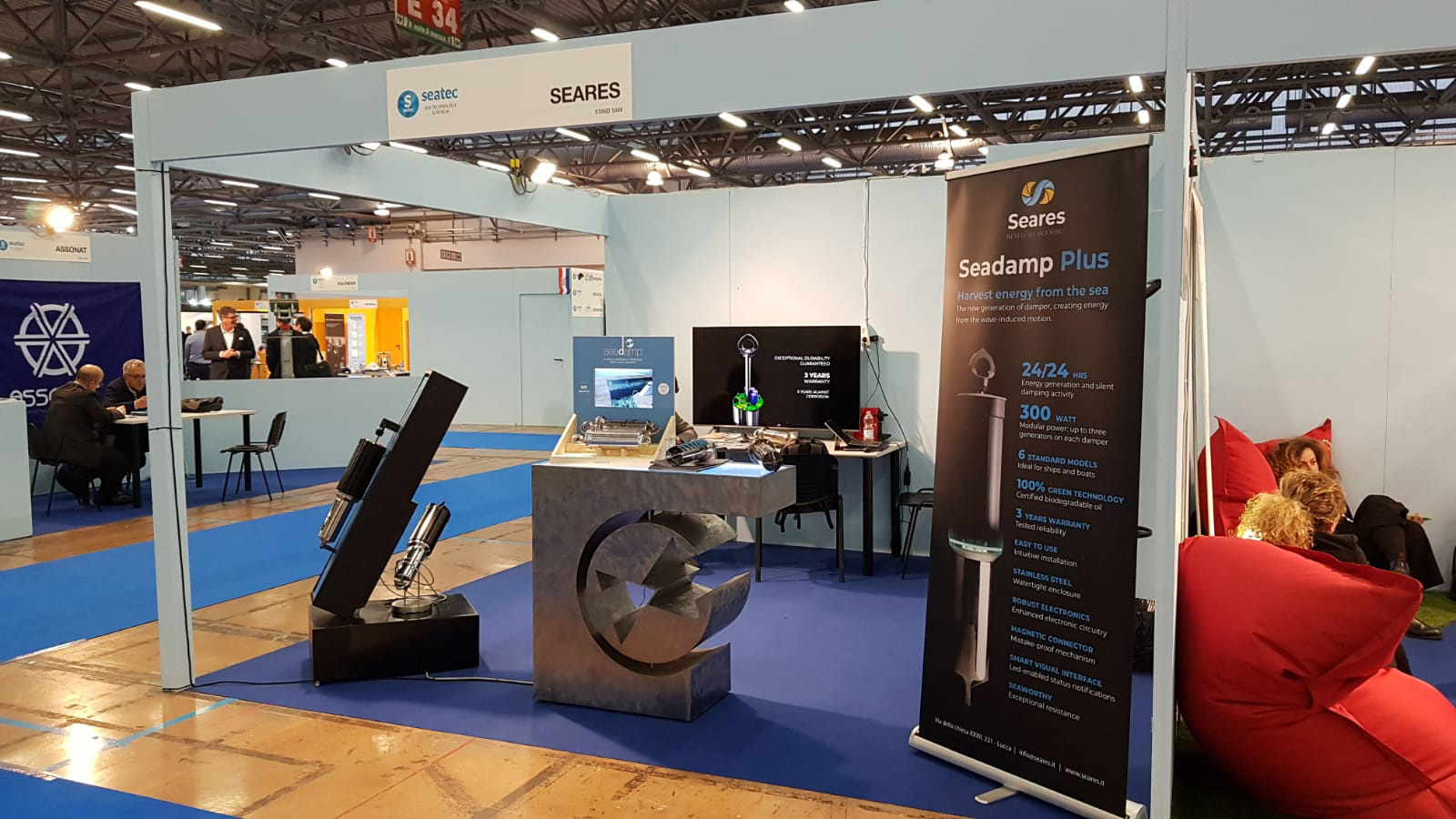 SeaTec2019 Seares Stand 004