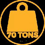 Seares Seadamp Steel ammortizzatore nautico navale 70 tonnellate dislocamento