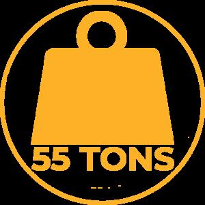 Seares Seadamp Steel ammortizzatore nautico navale 55 tonnellate dislocamento